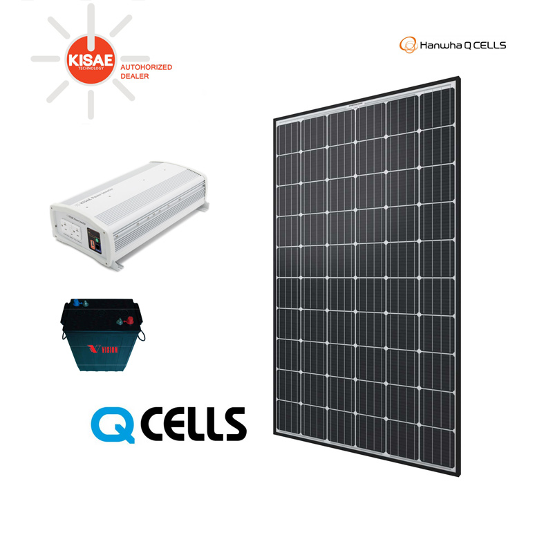 Kisae Off Grid Cabin Kit 3 Canadian Solar Wholesale